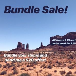 Other - All items $15 and under are 4 for $20!